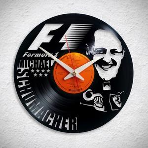 Michael Schumacher - Forma 1 - Bakelit falióra - Meska.hu