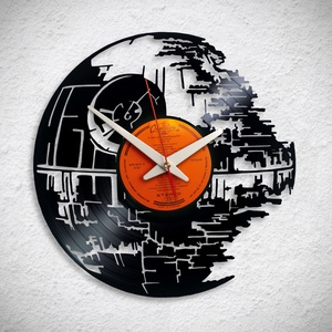 Star Wars Halálcsillag - Bakelit falióra - Meska.hu