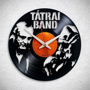 Tátrai Band- Bakelit falióra, Otthon & Lakás, Dekoráció, Falióra & óra, Újrahasznosított alapanyagból készült termékek, Meska