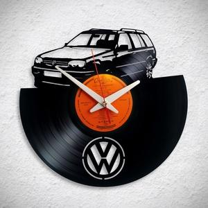 VW Golf kombi - többféle - Bakelit falióra - Meska.hu