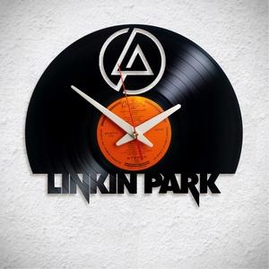 Linkin Park - Bakelit falióra, Otthon & Lakás, Dekoráció, Falióra & óra, A Fonografik bakelitóra nem csak neked fog tetszeni! :)  INGYEN POSTA! A sajnálatos helyzetre való t..., Meska