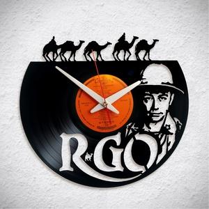 R-GO – Szikora Robi - Bakelit falióra, Otthon & Lakás, Dekoráció, Falióra & óra, A Fonografik bakelitóra nem csak neked fog tetszeni! :)  INGYEN POSTA! A sajnálatos helyzetre való t..., Meska