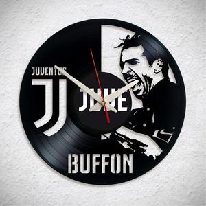 Juventus – Buffon, Otthon & Lakás, Dekoráció, Falióra & óra, A Fonografik bakelitóra nem csak neked fog tetszeni! :)  INGYEN POSTA! A sajnálatos helyzetre való t..., Meska