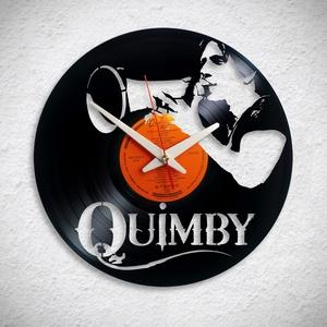 Quimby � Kiss Tibi - Bakelit falióra, Otthon & Lakás, Dekoráció, Falióra & óra, Újrahasznosított alapanyagból készült termékek, Meska