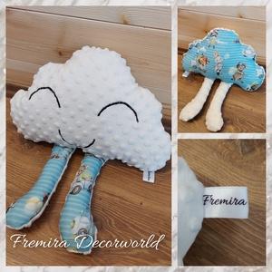 Felhő párnácska, Otthon & Lakás, Lakástextil, Párna & Párnahuzat, Varrás, Nagyon puha wellsoft illetve sima minky anyagból készítem a kis felhő párnákat, amelyek rövid idő al..., Meska
