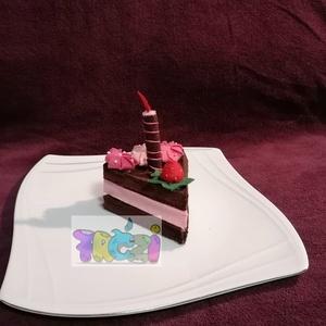 filc-süti tortaszelet (FREZIbaba) - Meska.hu