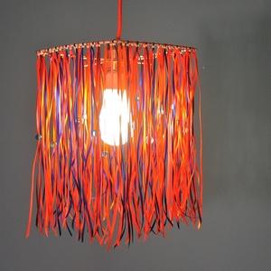 Szatén mennyezeti lámpa (MeiaLua) - Meska.hu