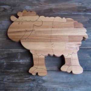 Vágódeszka másképp :-) - (bárány forma), Otthon & Lakás, Konyhafelszerelés, Vágódeszka, Famegmunkálás, Meska