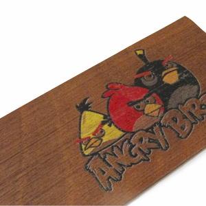 fa könyvjelző fiú gyerekeknek, Könyvjelző, Papír írószer, Otthon & Lakás, Famegmunkálás, Diófából készült Angry Birds gyerekmintás könyvjelző.\n\nAnyaga: 2 mm vastag tömör diófa, a minta karc..., Meska
