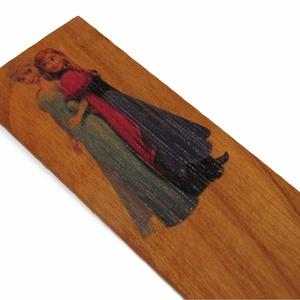 fa könyvjelző lány gyerekeknek, Otthon & lakás, Gyerek & játék, Gyerekszoba, Famegmunkálás, Nagyobbik kisfiunk is nagyon szerette a Geronimo Stilton-os könyvjelzőjét, így jött az ötlet, hogy m..., Meska