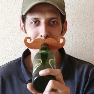 Sörösüveg jelölő (RS6) - 6 db-os szett, Otthon & lakás, Férfiaknak, Lakberendezés, Konyhafelszerelés, Sör, bor, pálinka, Famegmunkálás, A sörkultúra forradalmát éli. Ezen felbuzdulva készítettük el (szintén fából) egyik legújabb termék..., Meska