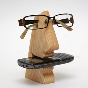 Mosolygós:-) mobiltartó és szemüvegtartó, 2 az 1-ben, Táska, Divat & Szépség, Táska, Pénztárca, tok, tárca, Mobiltok, Szemüvegtartó, Famegmunkálás, Mobiltartó és szemüvegtartó egyben!:-) A már régóta sikeres mobil és szemüvegtartónkat vidámabbá tet..., Meska