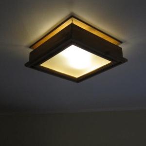 Klasszikus mennyezeti lámpa fából, Otthon & Lakás, Lámpa, Fali & Mennyezeti lámpa, Famegmunkálás, Mindenmás, Tömör fenyőből készülő mennyezetre szerelhető lámpa, melyet elsősorban konyhába, étkezőbe ajánlunk!\n..., Meska