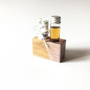 Faápoló szett AURO olajjal hölgyeknek (lila virágos), Egészségmegőrzés, Szépségápolás, Famegmunkálás, A fa természetes anyag, ha vigyázunk rá, mondhatni örök darab. Állapotának, esztétikai megjelenéséne..., Meska