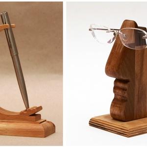 Szemüvegtartó + tolltartó, Táska, Divat & Szépség, Táska, Pénztárca, tok, tárca, Szemüvegtartó, Egyéb, Famegmunkálás, Szokatlan szemüvegtartónkat és A TOLL(tartó)-nkat párban kedvezményes áron kínáljuk!!\n\n1.\nKié a szem..., Meska
