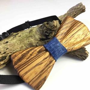 Tömör zebrano fa csokornyakkendő, Férfiaknak, Esküvő, Vőlegényes, Táska, Divat & Szépség, Famegmunkálás, Varrás, Igazán sajátos kiegészítő a divat és az igényes megjelenés kedvelőinek. Tömör zebrano fából készült ..., Meska