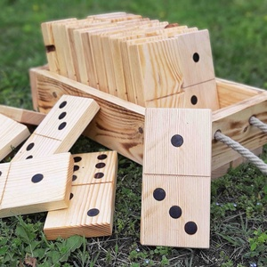 Kerti dominó fából (FromWood) - Meska.hu