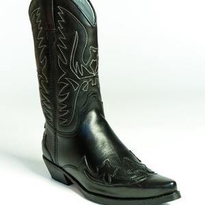 GA Western Csizma, Ruha & Divat, Cipő & Papucs, Bőrművesség, Varrás, Szereted a Western stílust? Egy texasi cowboy bőrébe szeretnél bújni? Vagy csak szereted az igényes ..., Meska