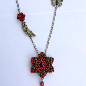 Csillagvirág nyaklánc (gab0ka) - Meska.hu