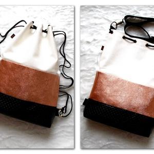 3 in1 csillámos-rosegold hátizsák/válltáska (gabbby) - Meska.hu
