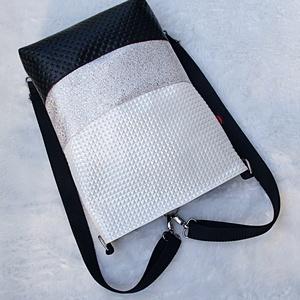 Wave_3in1 beige-platina hátizsák/válltáska (gabbby) - Meska.hu