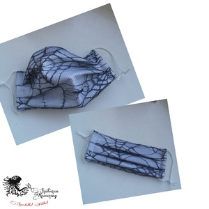 Textil maszk 100%pamutvászonból dupla rétegben készűlnek Moshatóak vasalhatóak., Maszk, Arcmaszk, Női, Varrás, Igazán egyedi szeretnél lenni\nAkkor ezt a maszkot neked készítem. \n100% fehér alap pamutvászonból\nRa..., Meska