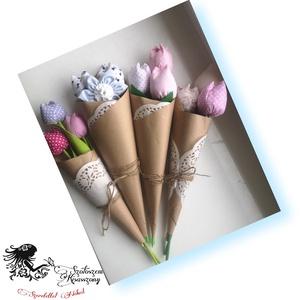 Tulipán csokor (gabeszkusz13) - Meska.hu