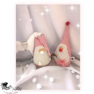 Mikik, Karácsony & Mikulás, Mikulás, Baba-és bábkészítés, Varrás, \nEzek az édes kis mikik igazán szuper ajándék lehet a mikulás alkalmával, de akár a karácsonyfa alá ..., Meska