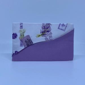 Papírzsebkendő tartó, Zsebkendőtartó, Pénztárca & Más tok, Táska & Tok, Varrás, ***Leírás***\nPamutvászonból készítettem a papírzsepi tartót. Belsejébe közbélést vasaltam, majd fehé..., Meska