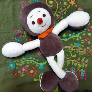 Gesztenye baba , Más figura, Plüssállat & Játékfigura, Játék & Gyerek, Baba-és bábkészítés, Varrás, 3 éves kortól ajánlott kis gesztenye baba. Mosható anyagokból készült. 22 cm magas. , Meska