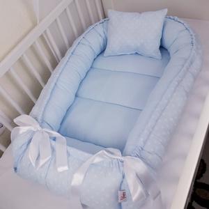 Babafészek, Otthon & Lakás, Babafészek, Lakástextil, A babafészek kényelmes és biztonságos újszülött és néhány hónapos babák számára. A babafészek körülö..., Meska