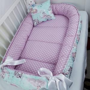 Akciós babafészek(anyaghibás), Babafészek, Lakástextil, Otthon & Lakás, Varrás, A babafészek kényelmes és biztonságos újszülött és néhány hónapos babák számára. A babafészek körülö..., Meska