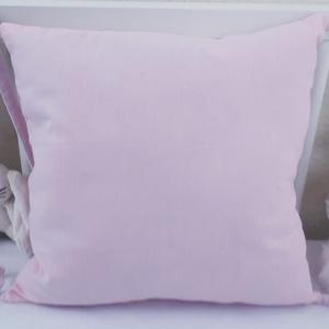 Rácsvédő párna, Gyerek & játék, Gyerekszoba, Falvédő, takaró, Varrás, Praktikus rácsvédő párna,világos rózsaszín.\n\nKiságyon kívül is használhatóak a párnák, ha már a baba..., Meska