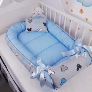 Babafészek , Otthon & Lakás, Babafészek, Lakástextil, A babafészek kényelmes és biztonságos újszülött és néhány hónapos babák számára. A babafészek körülö..., Meska