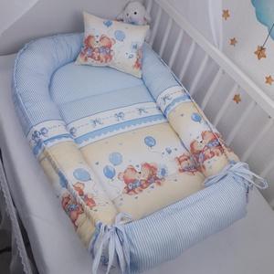 Macipuszi babafészek  AKCIÓ!, Otthon & Lakás, Lakástextil, Babafészek, Varrás, A babafészek kényelmes és biztonságos újszülött és néhány hónapos babák számára. A babafészek körülö..., Meska