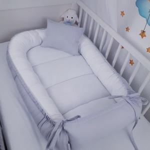 Babafészek, Otthon & Lakás, Lakástextil, Babafészek, Varrás, A babafészek kényelmes és biztonságos újszülött és néhány hónapos babák számára. A babafészek körülö..., Meska
