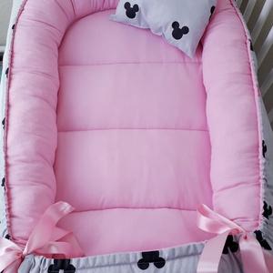 Babafészek , Babafészek, Lakástextil, Otthon & Lakás, Varrás, A babafészek kényelmes és biztonságos újszülött és néhány hónapos babák számára. A babafészek körülö..., Meska