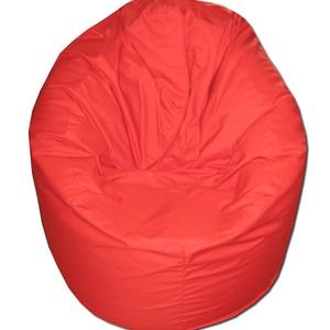 Piros babzsák, Bútor, Otthon & lakás, Lakberendezés, Egyéb, Babzsák, Varrás, Egyszínű, piros babzsi extra kényelem!\nFelállítva fotelként, fektetve pocolásra használhatod.\nDupla ..., Meska