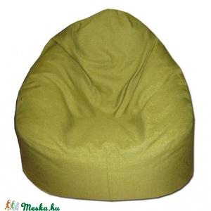 Zöld Relax babzsákfotel felnőtt, Bútor, Otthon & lakás, Lakberendezés, Egyéb, Babzsák, Varrás, Szélesebb és alacsonyabb fazon, kényelmesen el tudsz benne helyezkedni akár meditációs pózban is.\nDu..., Meska