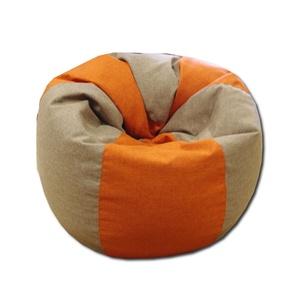 Keki-téglavörös csepp alakú babzsákfotel felnőtt, Bútor, Otthon & lakás, Lakberendezés, Egyéb, Babzsák, Varrás, Csepp alakú, hat cikkből álló fotel, extra minőségű, strapabíró lakástextilből,  felnőtteknek és gye..., Meska