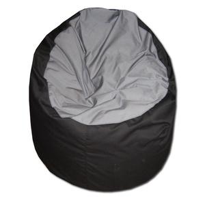 Babzsákfotel felnőtt fekete-szürke , Babzsákfotel, Bútor, Otthon & Lakás, Varrás, Standard fotel alakú babzsi extra, kényelem!\nFelállítva fotelként, fektetve pocolásra használhatod.\n..., Meska