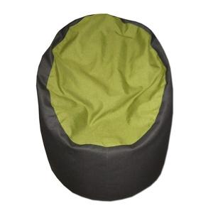 Szürke-zöld babzsákfotel felnőtt, Babzsákfotel, Bútor, Otthon & Lakás, Varrás, Visszafogott színek, extra minőségű tetil, minden környezetbe illik.\nFelállítva fotelként, fektetve ..., Meska