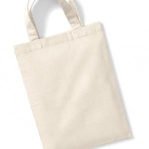 Westford Mill Cotton Party Bag for Life - Pamut Party Szatyor Tasak Táska Natúr, Textil, Pamut, Varrás, Textil, Westford Mill Cotton Party Bag for Life - Pamut Party Szatyor Tasak Táska Natúr\n Fül hossza 25 cm, a..., Meska