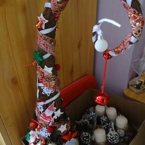 GRINCS-karácsonyi  dekoráció, Dekoráció, Otthon & lakás, Karácsony, Ünnepi dekoráció, Karácsonyi dekoráció, Dísz, Virágkötés, Karácsonyi lakásdekoráció díszítheti otthonod ünnepek idején\n\nDúsan díszített GRINCSfa\n\nméret. mag 6..., Meska