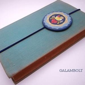 Könyvjelző (Galambolt) - Meska.hu
