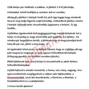 Textil memóriakártya, készségfejlesztő párkeresőjáték (gallmarcsi) - Meska.hu