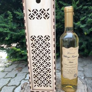 Borosdoboz, pezsgősdoboz, Esküvő, Dekoráció, Ünnepi dekoráció, Famegmunkálás, Saját tervezésű, egyedileg gravírozott boros, pezsgős doboz, minden alkalomra. A dobozok egyedileg,..., Meska