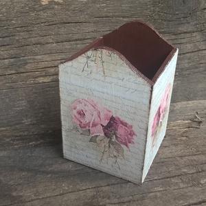 Levél rózsákkal -ceruzatartó,tolltartó rendelhető (garievi) - Meska.hu