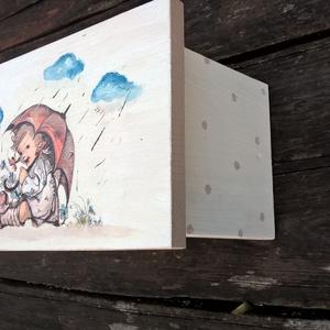 Rainy day - nosztalgia  sámli kicsiknek, nagyoknak (garievi) - Meska.hu