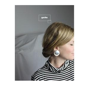 Fa fülbevaló, Ékszer, Fülbevaló, Lógós kerek fülbevaló, Ékszerkészítés, Fa fülbevaló, alumínium félgömbbel, bedugós alappal.\nMéret: 3,5cm, Meska